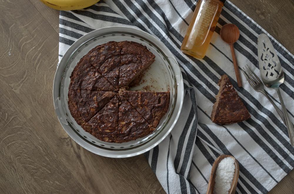 wit+aroma paleo cinnamon swirl banana cake