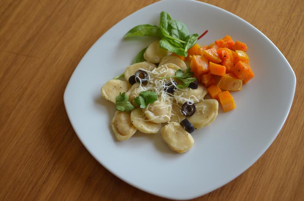 wit+aroma roasted butternut squash ravioli