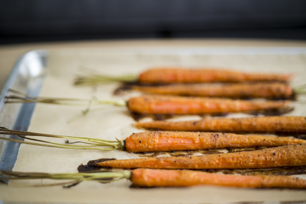 wit+aroma roasted carrots