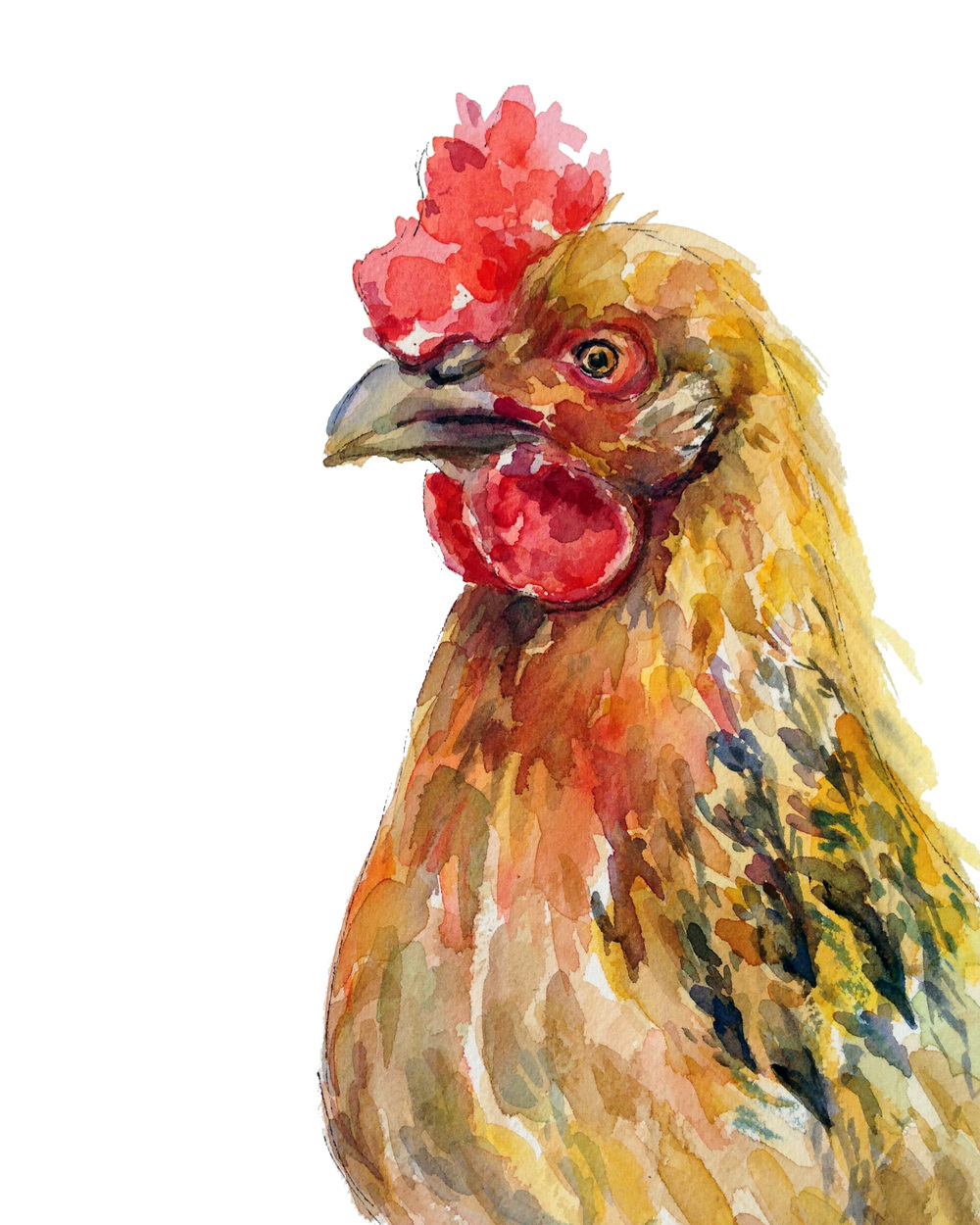 Hen (ORIGINAL SOLD)