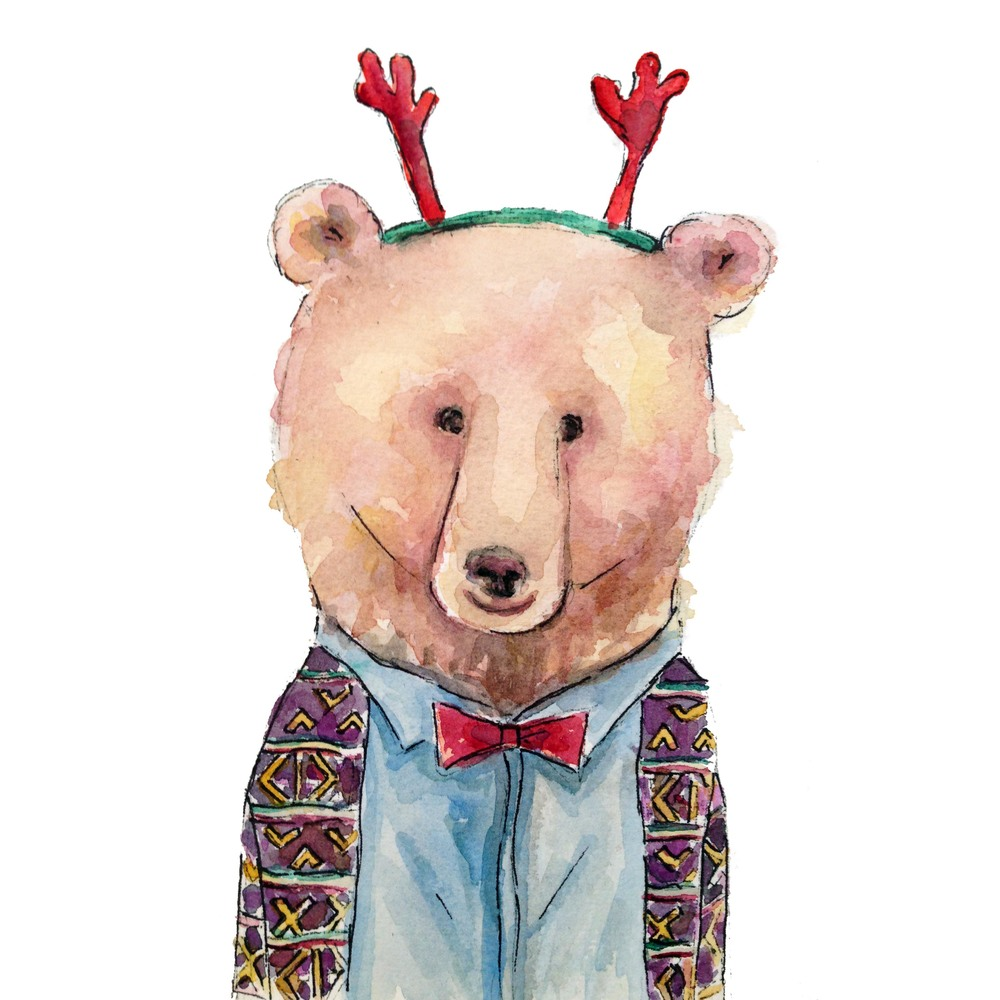 Christmas Party Bear