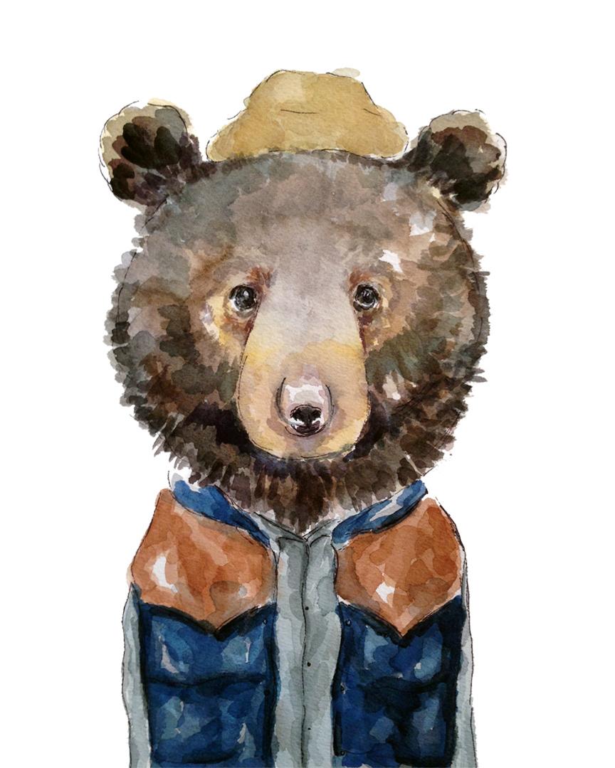 Vest Bear