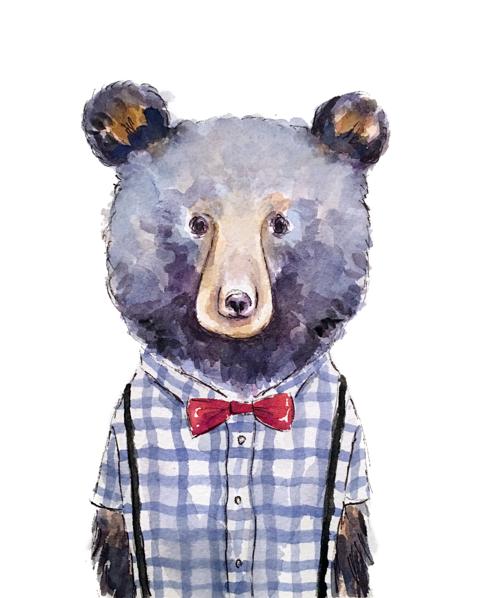 Dapper Bear