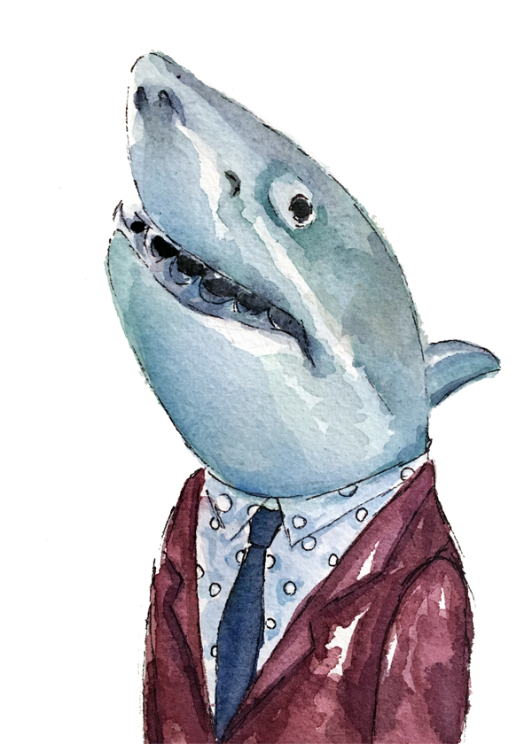 Dapper shark