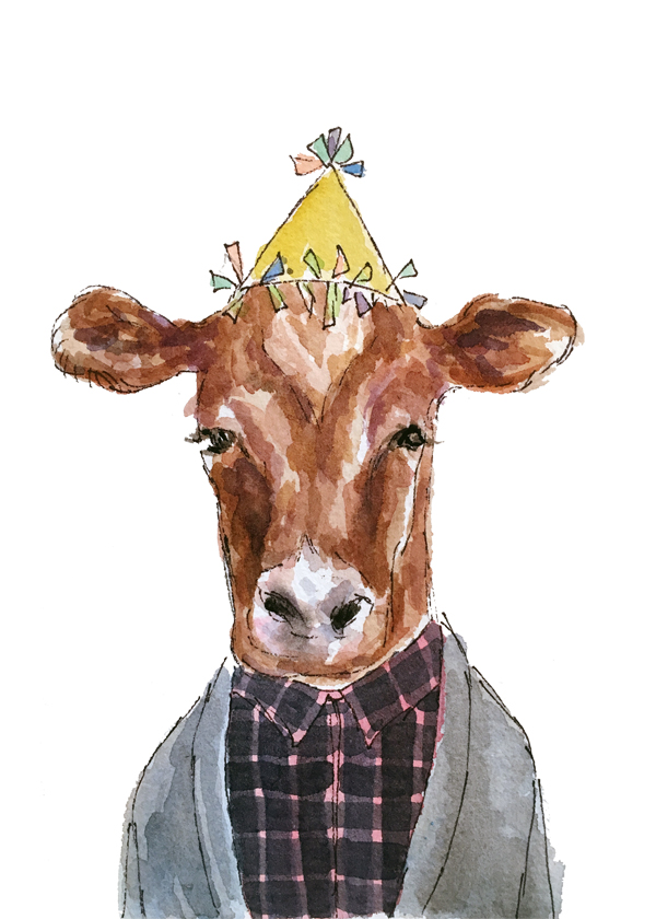 Cow birthday