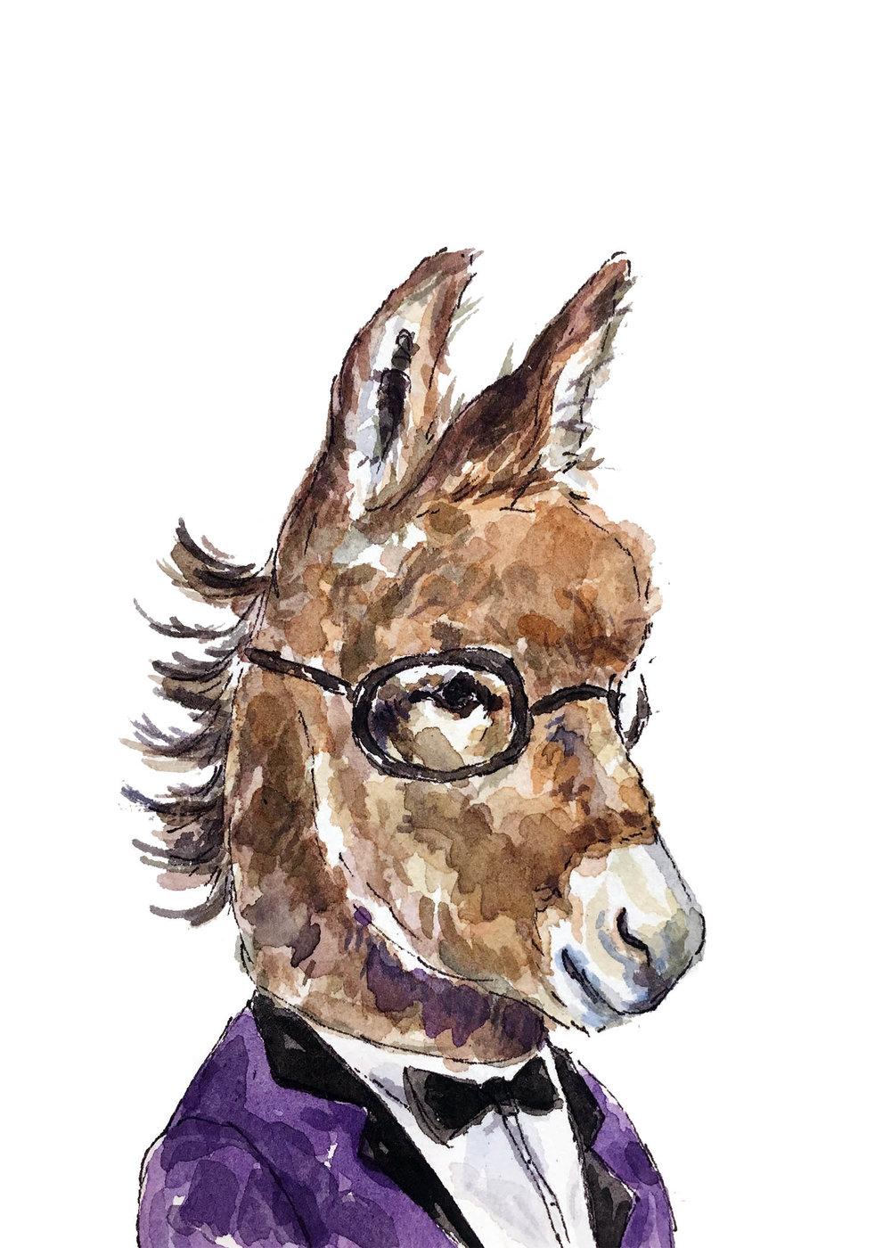 Donkey-purplesuit-5x7.jpg