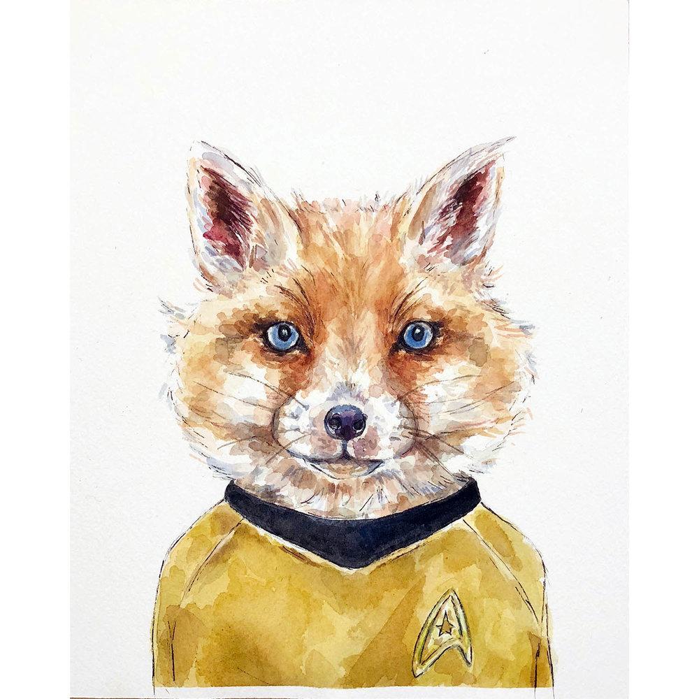 Captain Kirk Fox