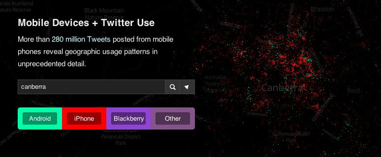 Tweet Map @ Mapbox