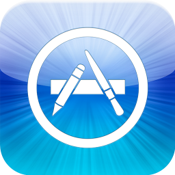 The iOS App Store from Apple