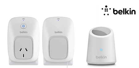 Belkin's WeMo Switch and Motion Sensor