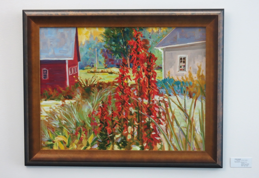 Chuck Bauer, En Plein Air. . . July 4th - August 28th