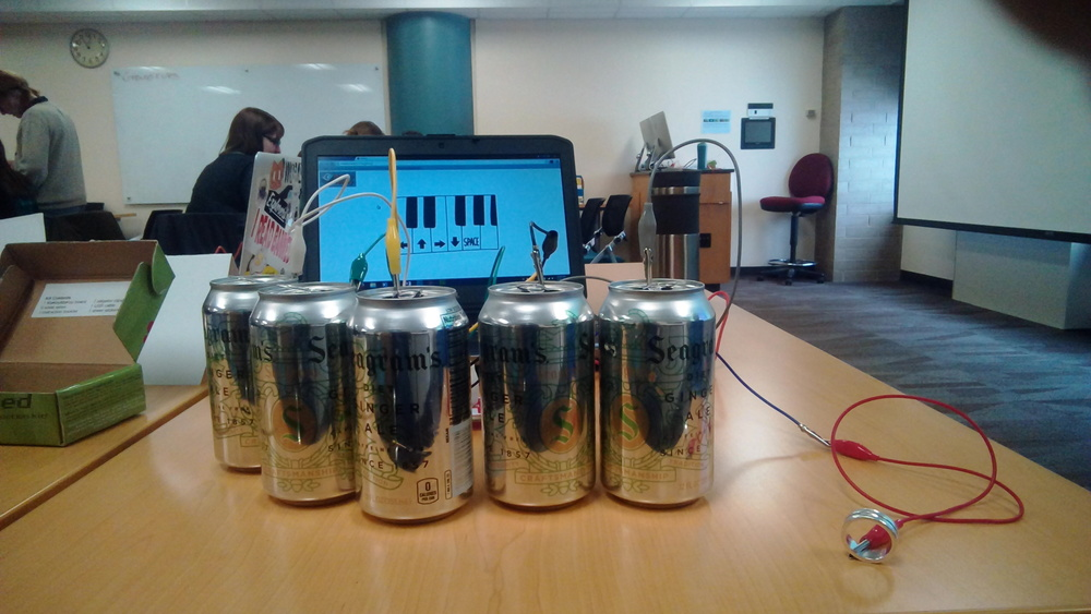 Pop Can Piano