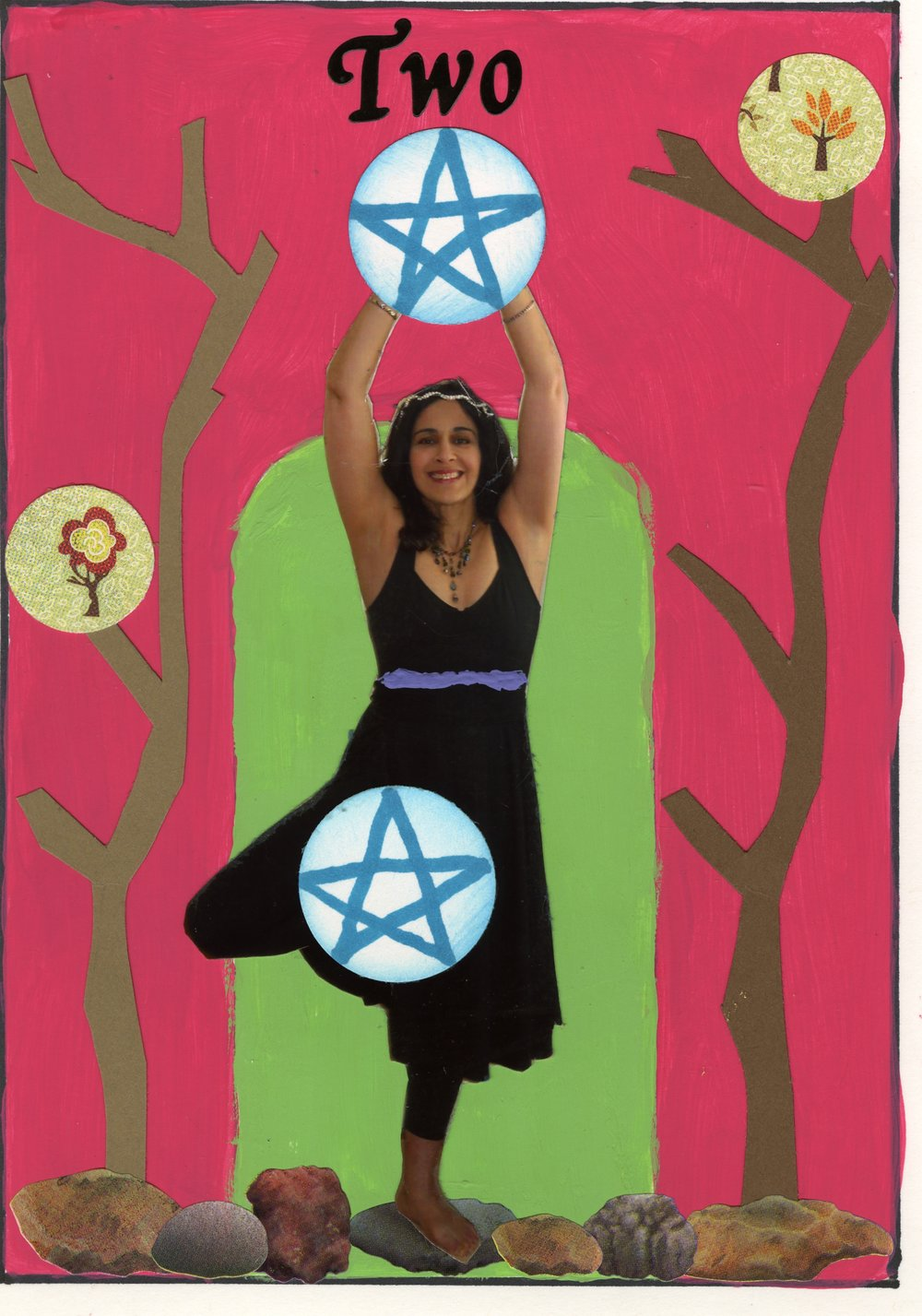 Nancy Schroenherr - Two of Pentacles