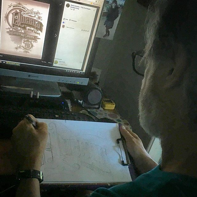 #research #oldschool #lettering #skillz #handskills #oldways #vintage #inspo #lettering #dyingart #sign #chalkboard #chalkboardart #patience #honingtheskills