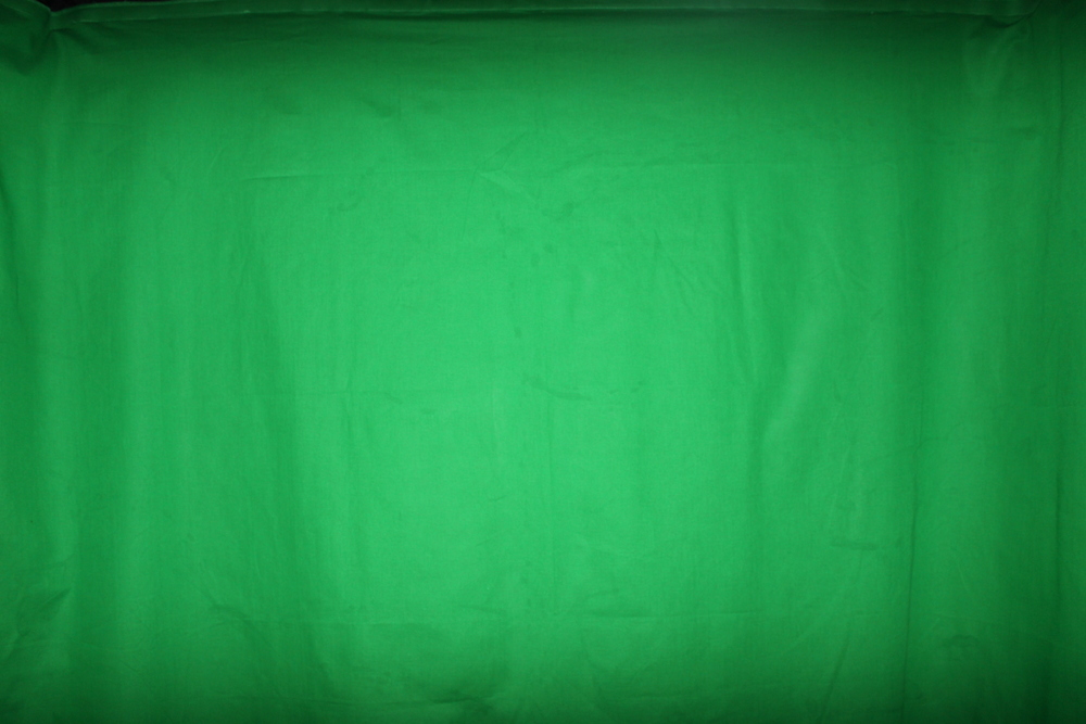 "It's not ""just"" green screen"