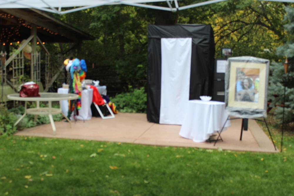 Taylor Wedding, setup