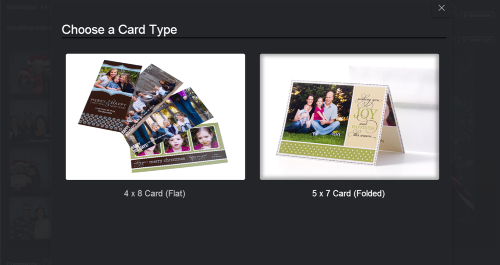 You can also make personalized greeting cards!