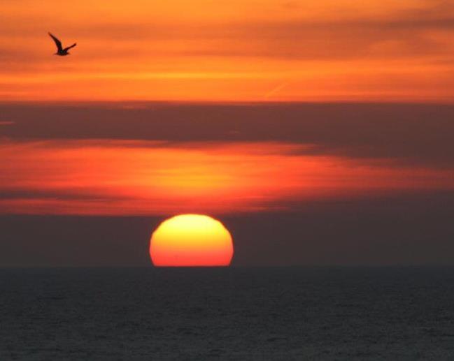 Sunrise at Atwater Beach