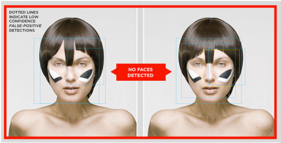 viahttp://venturebeat.com/2010/07/02/facial-recognition-camouflage/