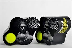 cool tennis ball packaging