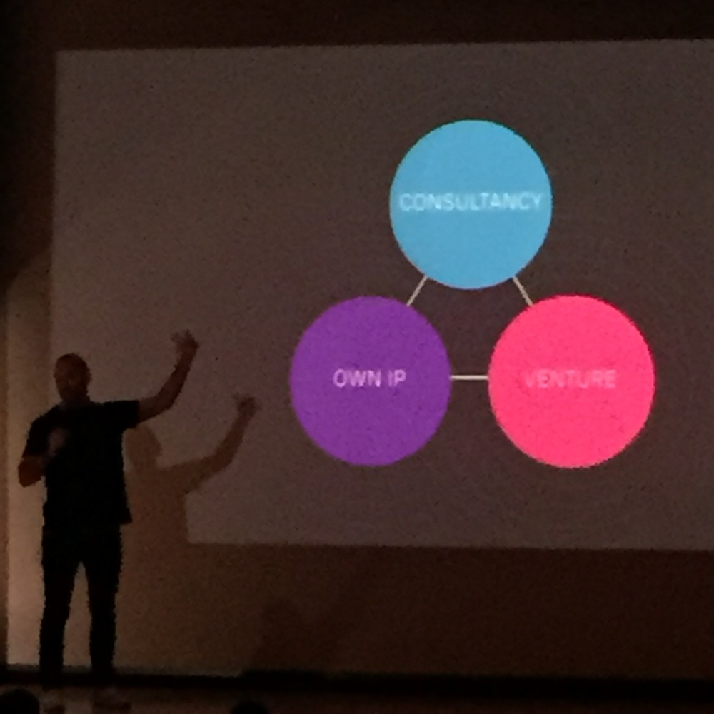 The UsTwo model by co-founder  Jules Ehrhardt