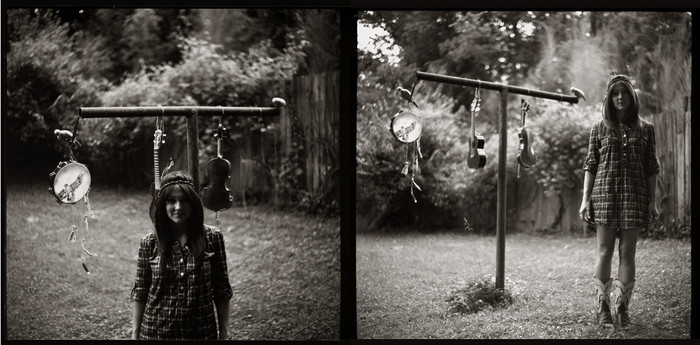 Diptych Outside By: Joshua Black WIlkins
