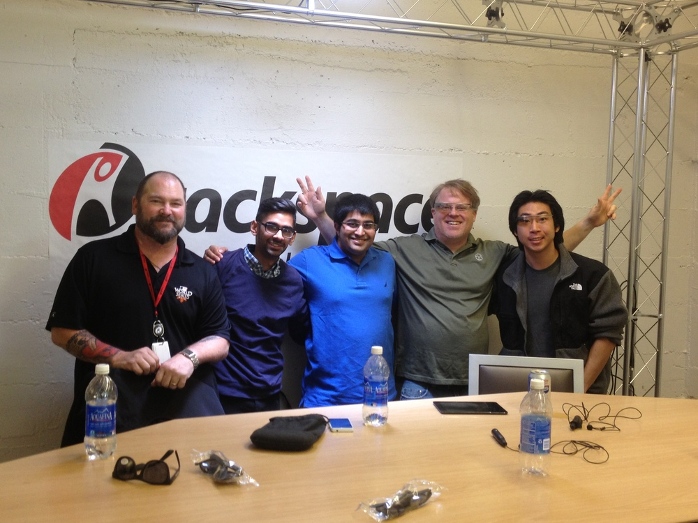 Robert Scoble interviews Thirst Labs about Thirst Droplet in the Rackspace studio.