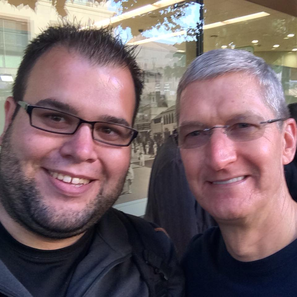 Tim cook, CEO at Apple