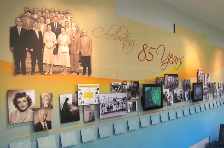 CTB Historical, interactive display