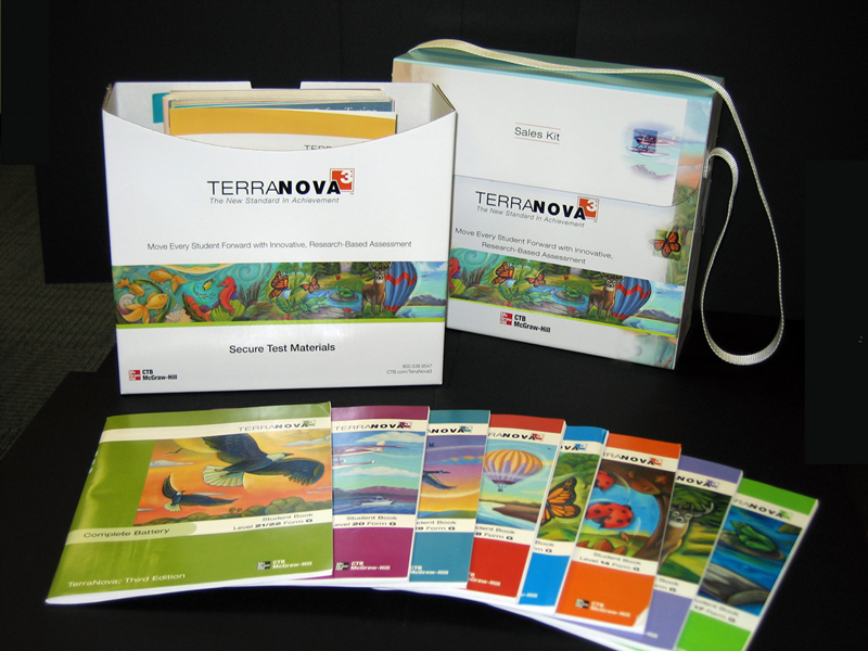 Terra Nova, Third Edition- Packaging and sales materials for initial product introduction