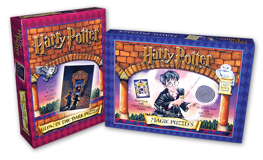 Harry Potter Puzzles-  Package Comps
