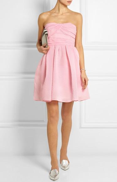 Carven Cotton Blend Organza Mini Dress from net-a-porter.com $734.13USD