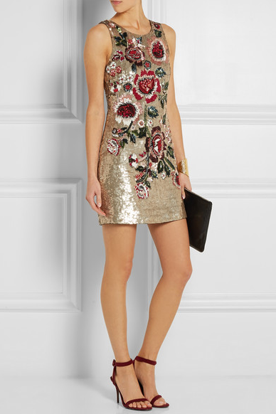 Needle and Thread Sequined Mini Dress from net-a-porter.com $367.86 USD