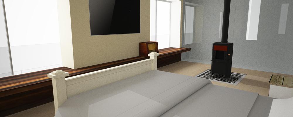 חדר שינה- מבט לארון ולקמין.jpg