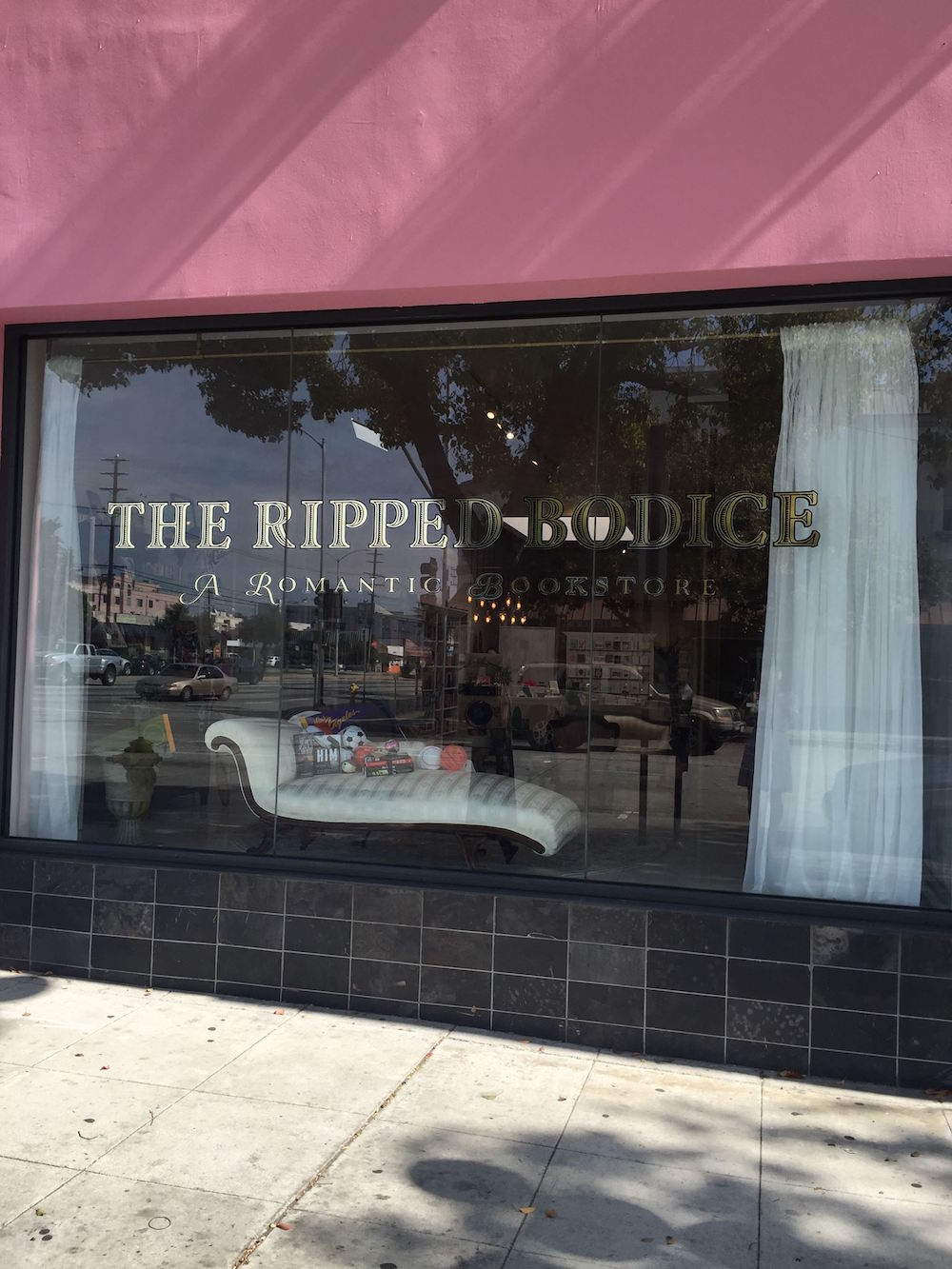 The Ripped Bodice - a romance novel store at 3806 Main Street, Culver City, CA