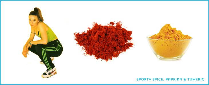 sporty spice paprika tumeric