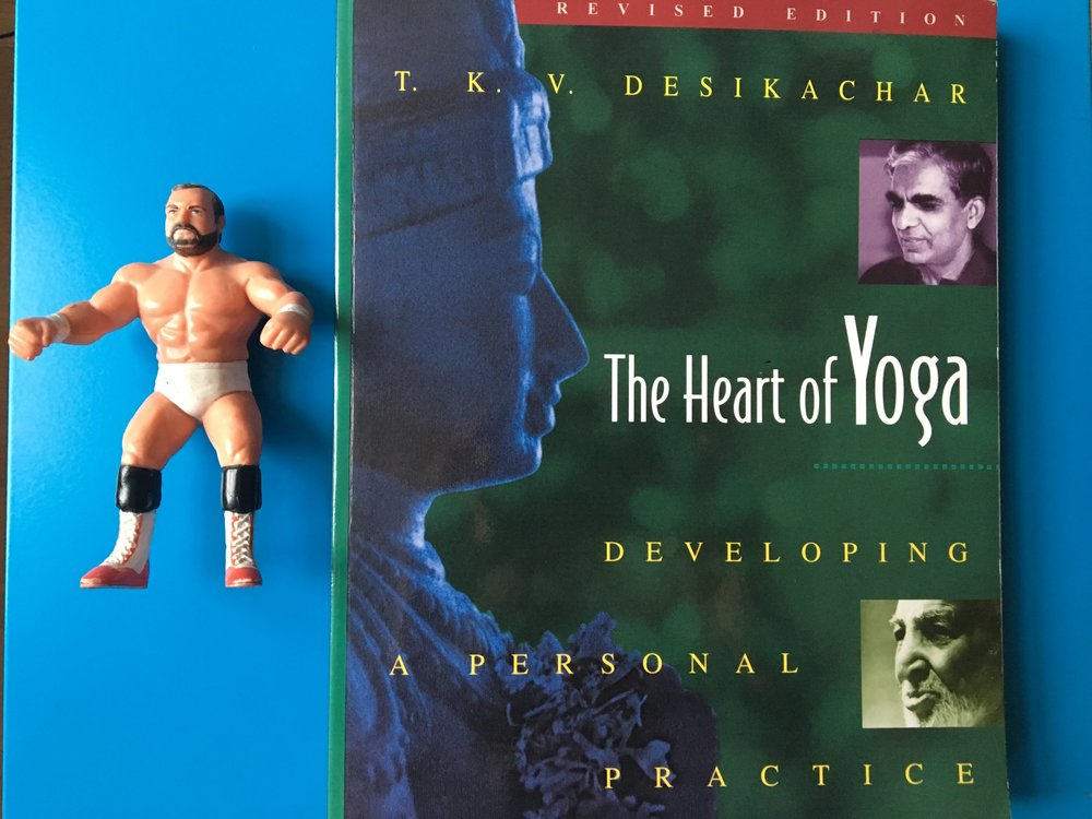Much of my inspiration for this blog comes from this incredible book by T.K.V Desikachar