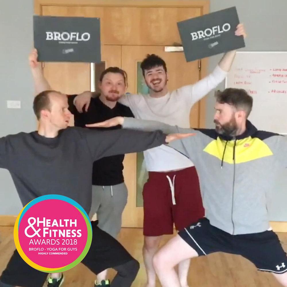 BroFlo Yoga for Guys Fitness Belfast Everyone Welcome Health & Fitness Awards Northern Ireland.jpg