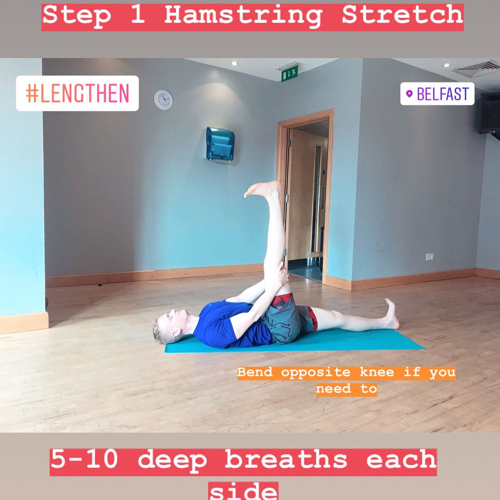 Step 1 Hamstring Stretch Yoga for Leg Day Fitness Belfast.jpg