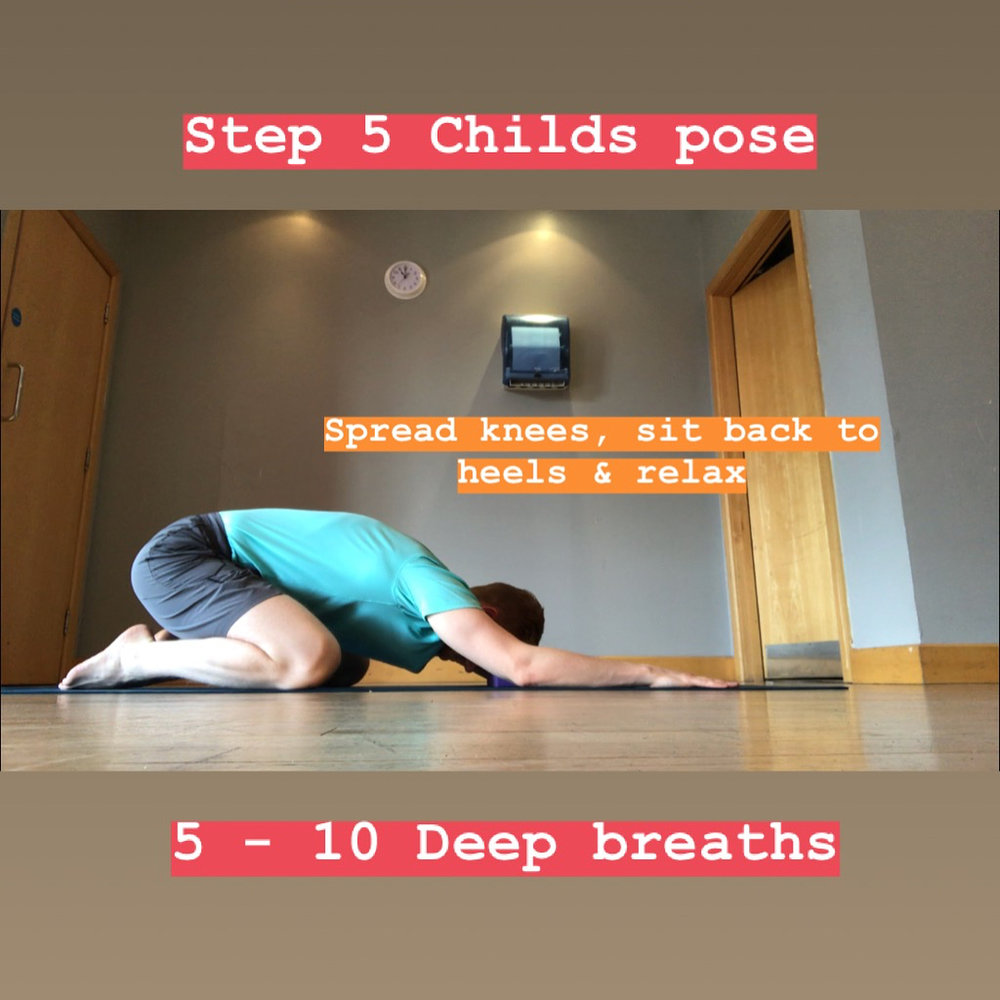 Step 5 Childs Pose Yoga for Lower Back Fitness Belfast.jpg