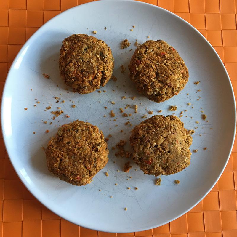 Baked Falafel Burgers - Hurrah for falafels!