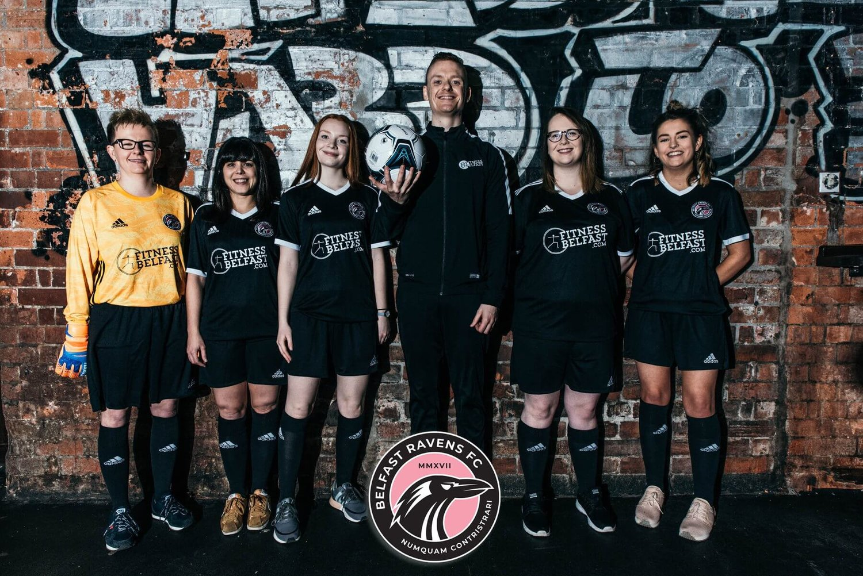 Fitness Belfast Official Sponsor Of Belfast Ravens! ⚽ 🏃🏼 ♀  6a5f94aedb