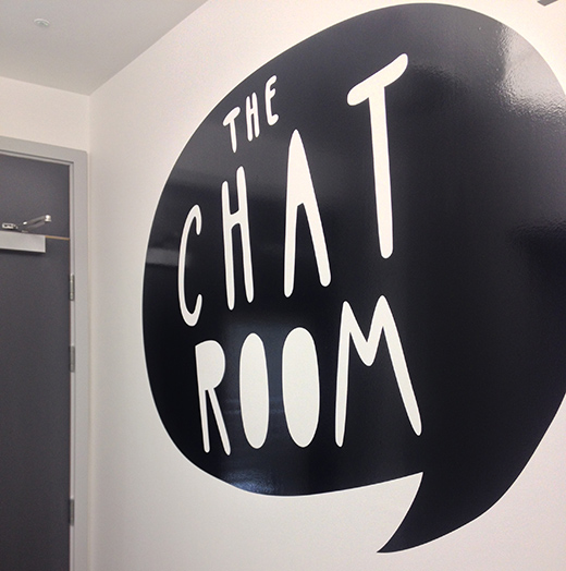 Graphic for The Chat Room