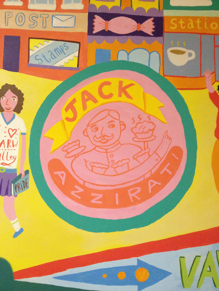Jack Azzirati was a local legend and owner of 'Station Cafe' - famous for his pie making