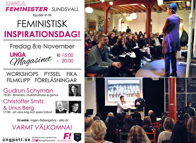 Feministisk Inspirationsdag med Gudrun Schyman, Christoffer Smitz & Linus Berg på Unga Magasinet, 13-11-08. Foto: Ellinor Ljunglöf
