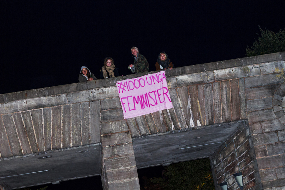 #1000UngaFeminister Kalmar ©Elin Henriksson