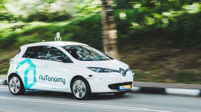 Singapore Driverless Taxi