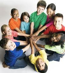 trabajo en equipo niños
