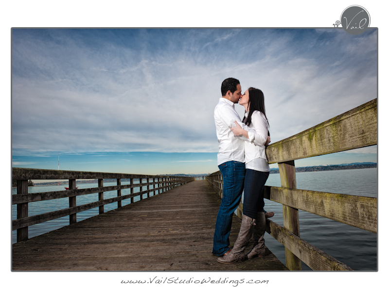 Engagement Session Photographed by Vail Studio