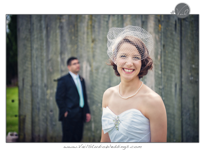 Whidbey Island Wedding happy Bride 5